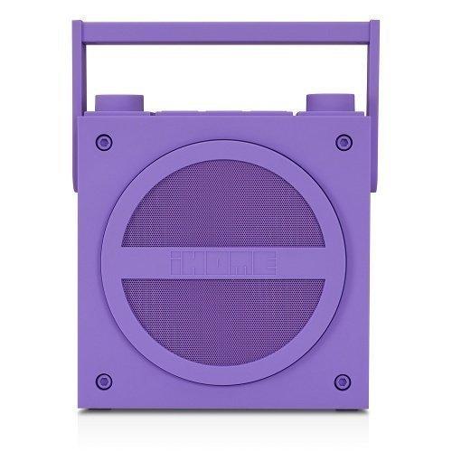 iHOME iBT4 FM BoomBox Purple