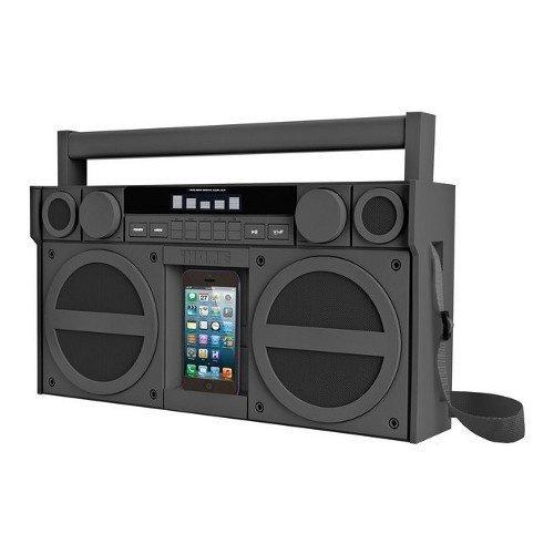 iHOME iBT44 FM BoomBox XL Grey