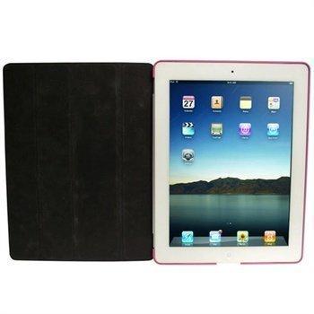 iPad 2 iGadgitz Kuminen Kovakotelo Pinkki