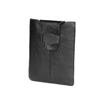 iPad 2 iPad 3 iPad 4 Waterkant Kuestenperle Nappanahkainen Kotelo Musta