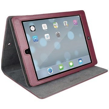 iPad Air Cygnett Archive Classic Smart Folio Nahkakotelo Burgundy Punainen