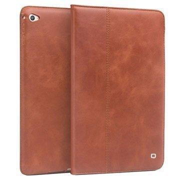 iPad Mini 4 Qialino Vintage Smart Folio Leather Case Brown
