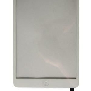 iPad Mini / Mini 2 Retina Kosketuspaneeli IC Liitännällä ja Home Flexillä Valkoinen