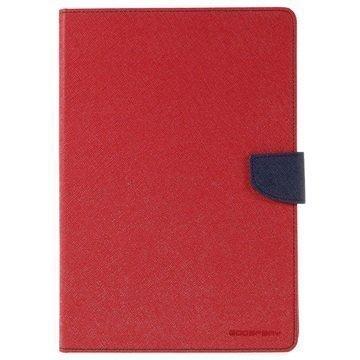 iPad Pro 9.7 Mercury Goospery Fancy Diary Folio Kotelo Punainen