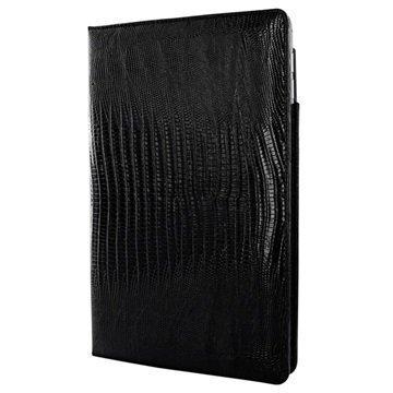 iPad Pro 9.7 Piel Frama Cinema Nahkakotelo Lisko Musta