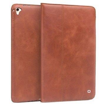 iPad Pro 9.7 Qialino Vintage Smart Folio Leather Case Brown