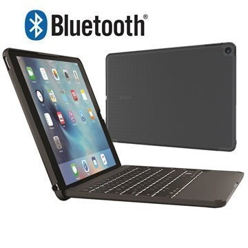 iPad Pro 9.7 Zagg Bluetooth Keyboard Case Black