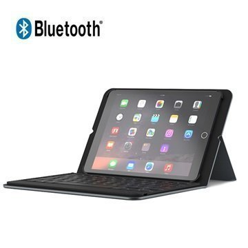iPad Pro 9.7 Zagg Messenger Bluetooth Keyboard Case Black