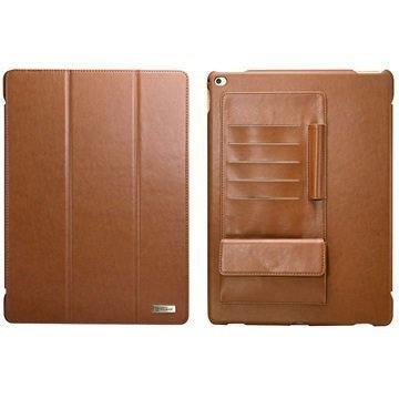 iPad Pro iCarer Business Folio Case Brown