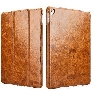 iPad Pro iCarer Vintage Folio Case Brown