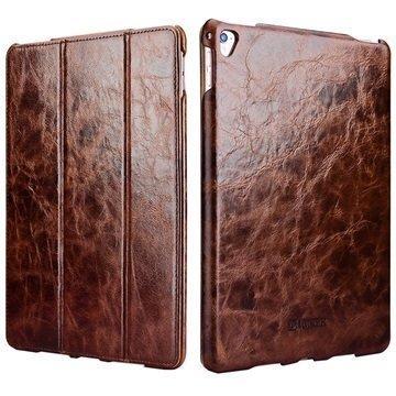 iPad Pro iCarer Vintage Folio Case Coffee