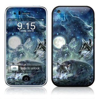 iPhone 3G 3GS Bark At The Moon Skin