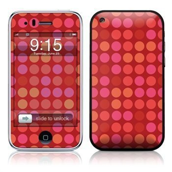 iPhone 3G 3GS Big Dots Skin Red