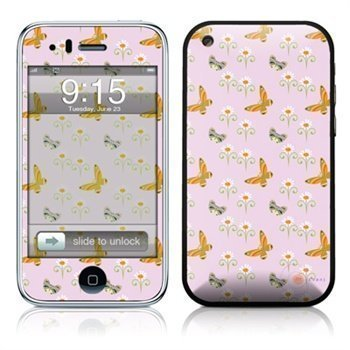 iPhone 3G 3GS Butterfly Skin Pink