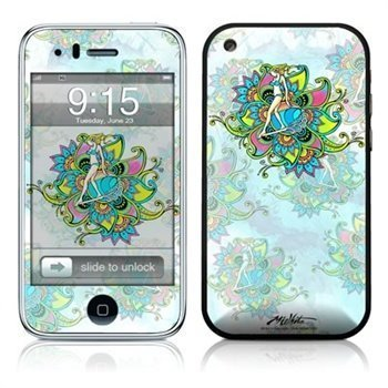 iPhone 3G 3GS Chica Surfica Skin White