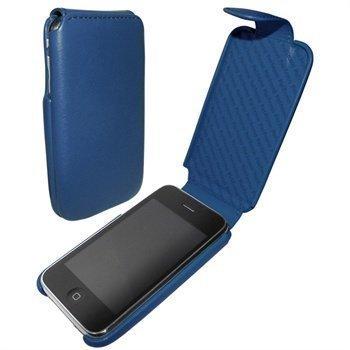 iPhone 3G / 3GS Piel Frama iMagnum Nahkakotelo Sininen