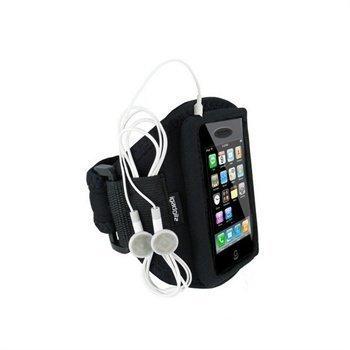 iPhone 3G 3GS iGadgitz Neopreeni Käsivarsikotelo Musta