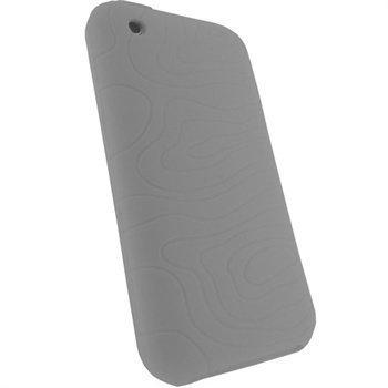 iPhone 3G 3GS iGadgitz Silikonikotelo Valkoinen