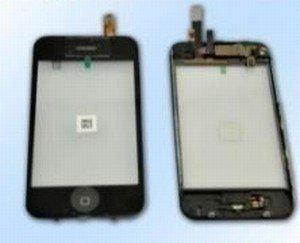 iPhone 3G puolikas etupaneeli