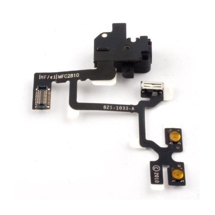 iPhone 4 Äänenvoimakkuuden flex-kaapeli mute/volume