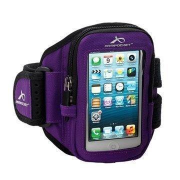 iPhone 4 / 4S Armpocket i-10 Käsivarsikotelo S Violetti