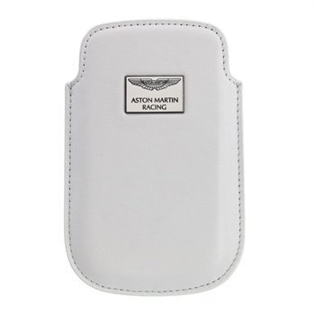 iPhone 4 / 4S Aston Martin Racing Chic Leather Case White