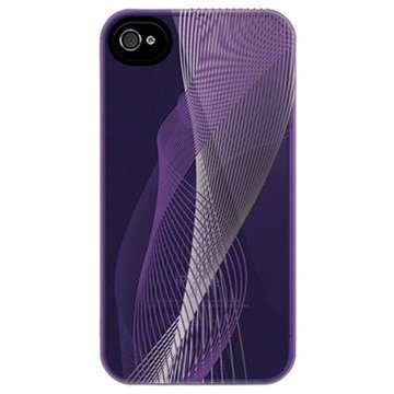 iPhone 4 / 4S Belkin Emerge Avid 021 Kova Kotelo Violetti