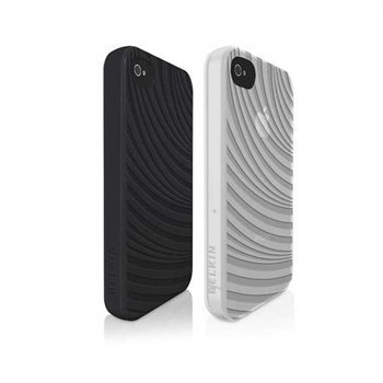 iPhone 4 / 4S Belkin Essential Snap-On-Cover Black and White