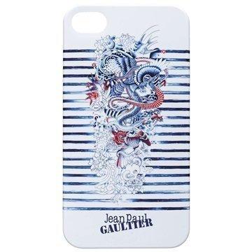 iPhone 4 / 4S BigBen Jean Paul Gaultier Kovakotelo Sininen / Valkoinen