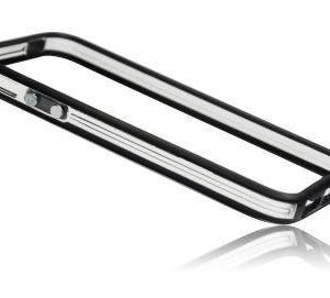 iPhone 4 / 4S Bumper suoja musta / läpinäkyvä