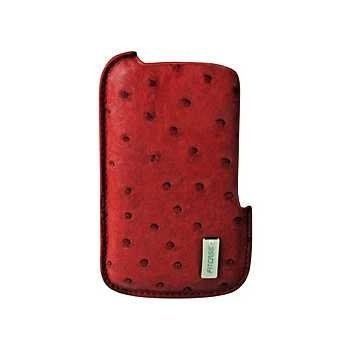 iPhone 4 / 4S FitCase DCO-023 Pouch Ostrich Red