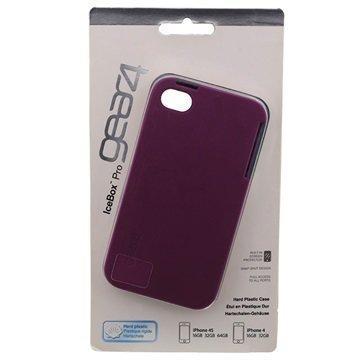 iPhone 4 / 4S Gear4 IceBox Pro IC470 Kova Suojakuori Violetti