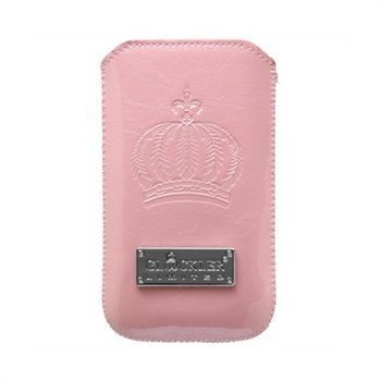iPhone 4 4S Glööckler DeLuxe Sleeve Case Pink