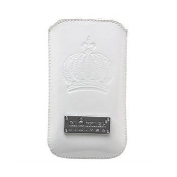 iPhone 4 4S Glööckler DeLuxe Sleeve Case White