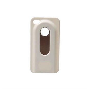 iPhone 4 / 4S Konkis Pullonavaaja Taustakuori Valkoinen