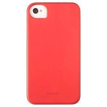 iPhone 4 / 4S Krusell BioCover Kuori Punainen