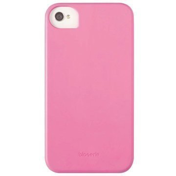 iPhone 4 / 4S Krusell BioCover Kuori Vaaleanpunainen