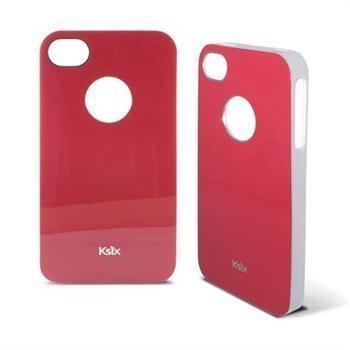 iPhone 4 / 4S Ksix K6 Kiinteä TPU-Kuori Punainen