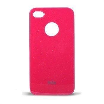 iPhone 4 / 4S Ksix Pixie Suojakuori Pinkki
