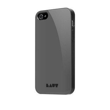 iPhone 4 / 4S LAUT HUEX Case Musta