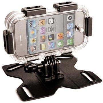 iPhone 4 / 4S Maptaq Q-Mountz Vedenpitävä Kotelo / Teline