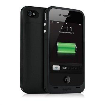 iPhone 4 / 4S Mophie Juice Pack Plus Akkukotelo Musta
