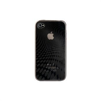 iPhone 4 / 4S Naztech Wave Silicone Case Transparent Smoke