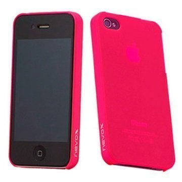 iPhone 4 / 4S Nevox StyleShell Faceplate Pink