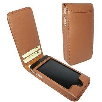 iPhone 4 / 4S Piel Frama Classic Magnetic Nahkakotelo Parkittunahka
