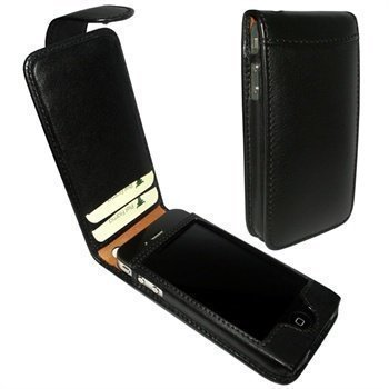 iPhone 4 / 4S Piel Frama Classic Snap Leather Case Black