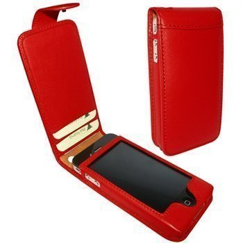 iPhone 4 / 4S Piel Frama Classic Snap Leather Case Red