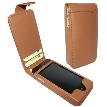 iPhone 4 / 4S Piel Frama Classic Snap Leather Case Tan