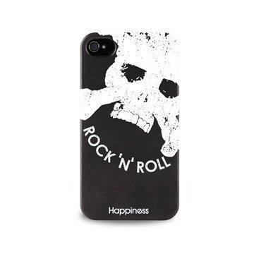 iPhone 4 / 4S Puro Happiness Kotelo Musta