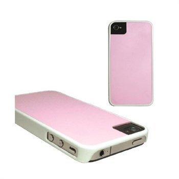 iPhone 4 / 4S Puro Nahkakotelo Golf Line Sininen / Valkoinen